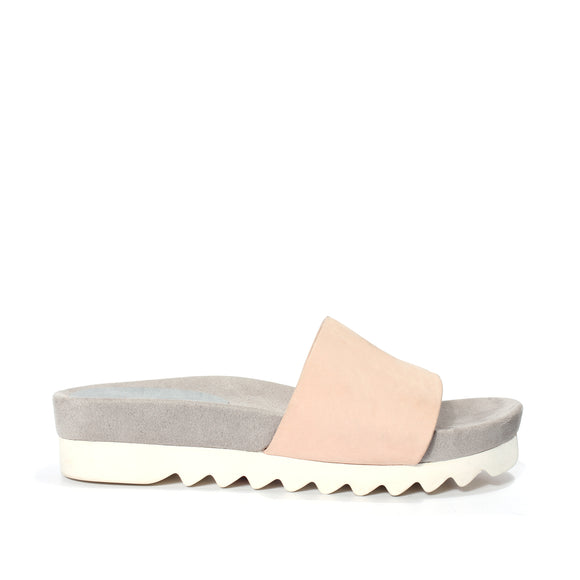 Sandal Slide Tooth Wedge - Blush