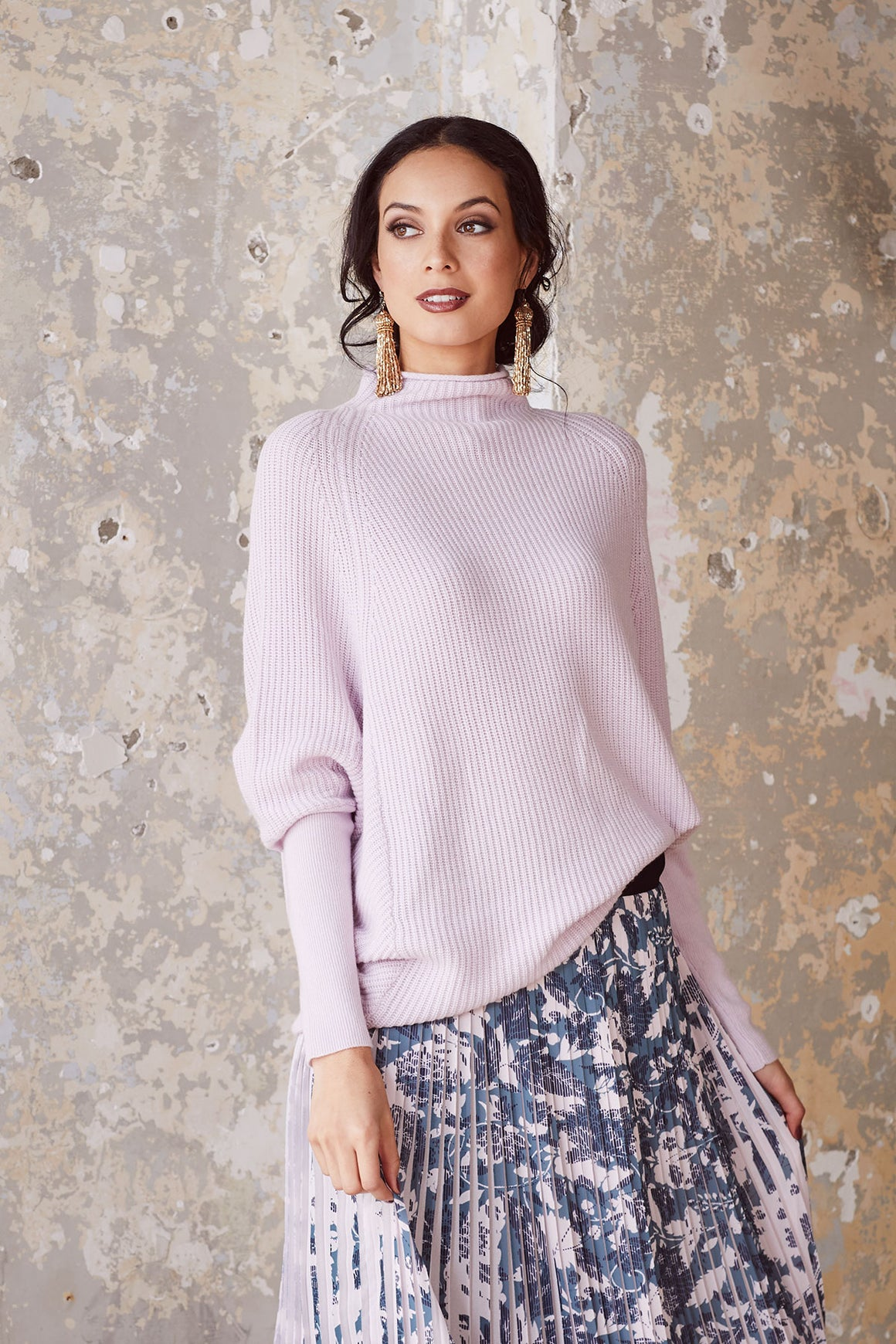 Loobies Story Sophia Sweater - Heather