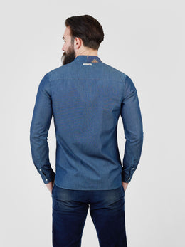Splice Long Sleeve Shirt | Shop Pearly King at Wallace and Gibbs NZ