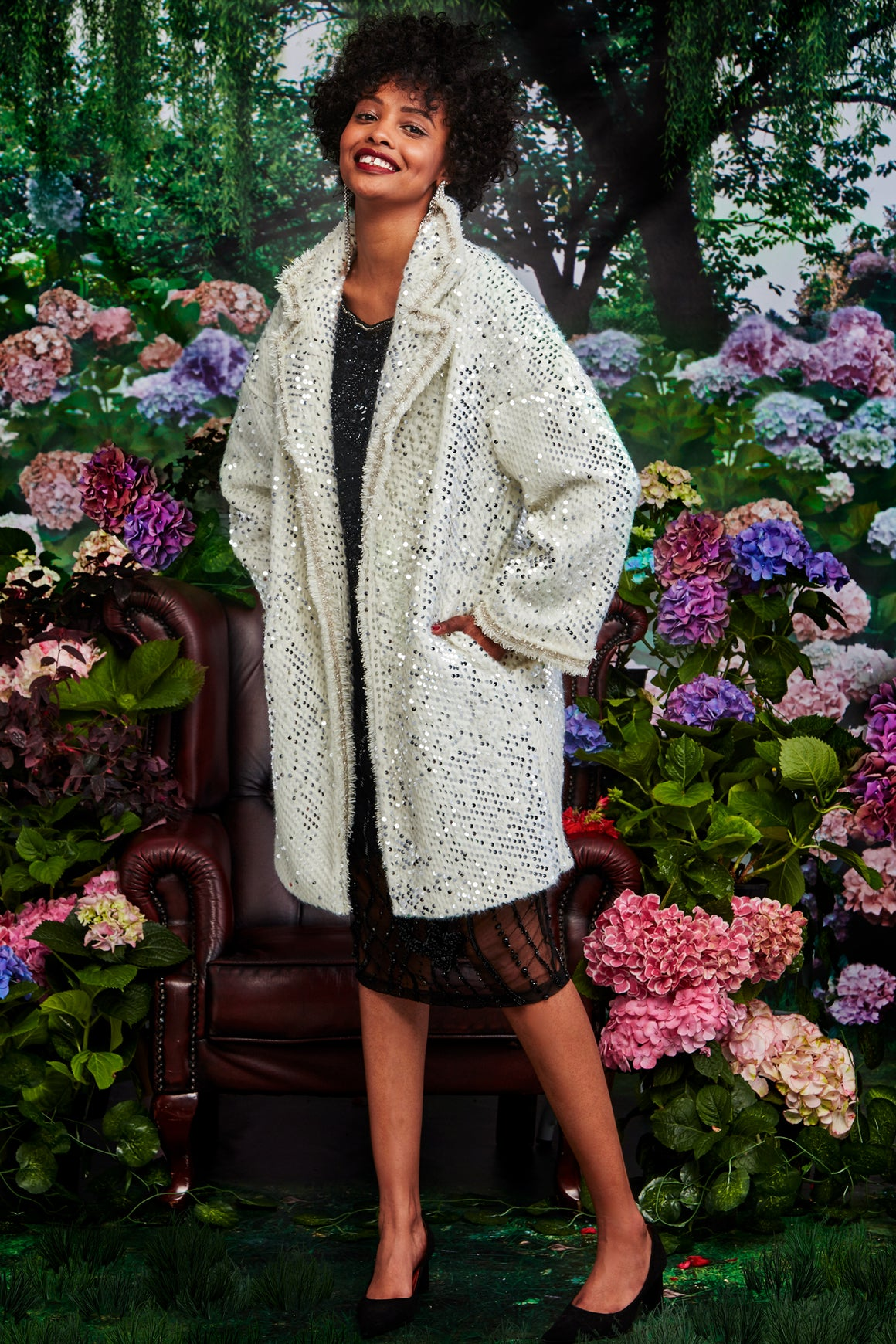 Trelise Cooper Snow Queen Coat - Snow| Shop at Wallace and Gibbs NZ