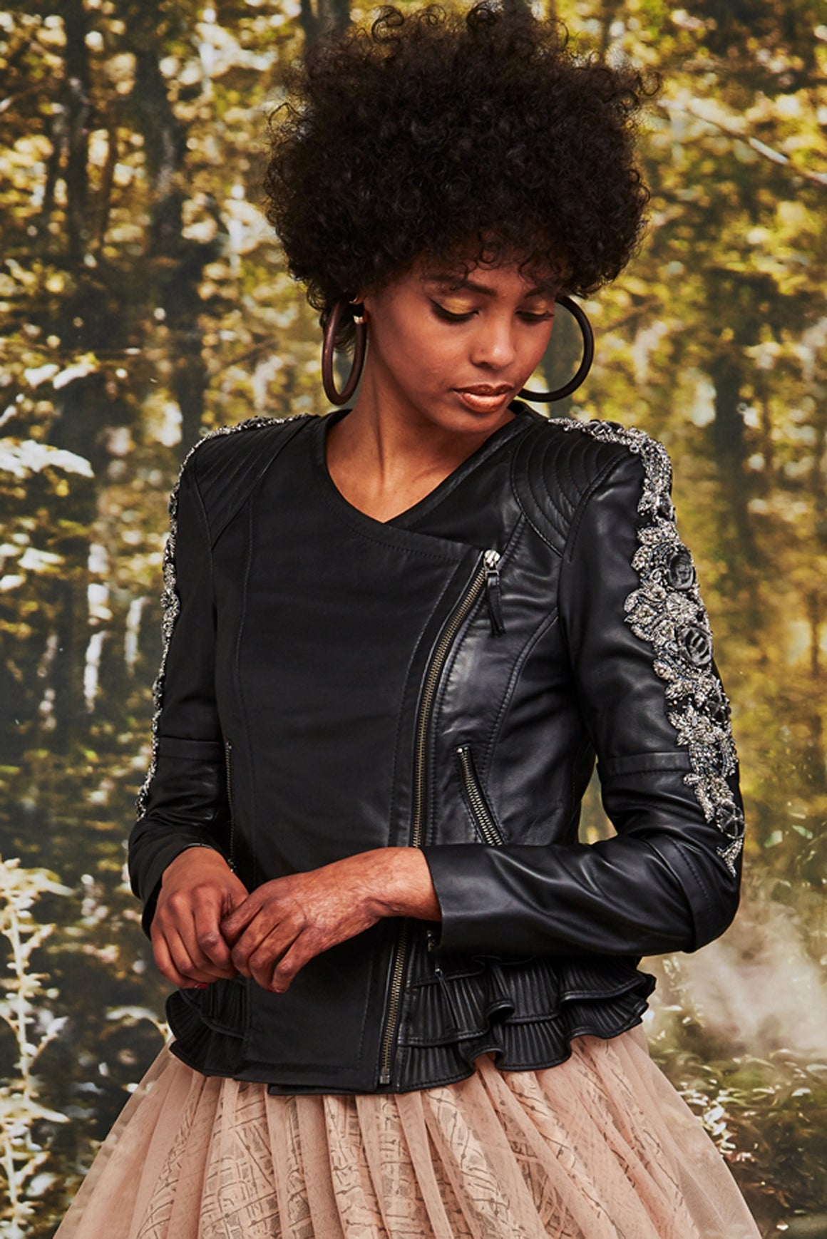 Trelise Cooper We Frill Rock You Jacket | Shop at Wallace and Gibbs NZ