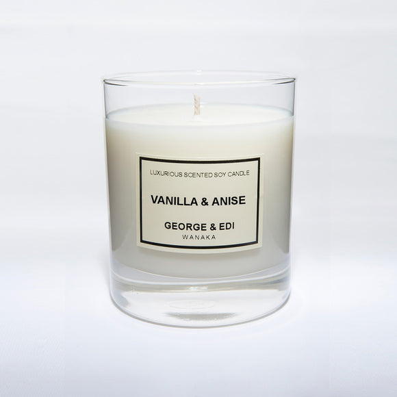 Candle - Vanilla Anise | Shop George & Edi at Wallace and Gibbs