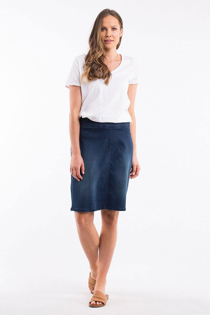 Elm Missy Denim Skirt | Shop Elm at Wallace & Gibbs in Arrowtown NZ