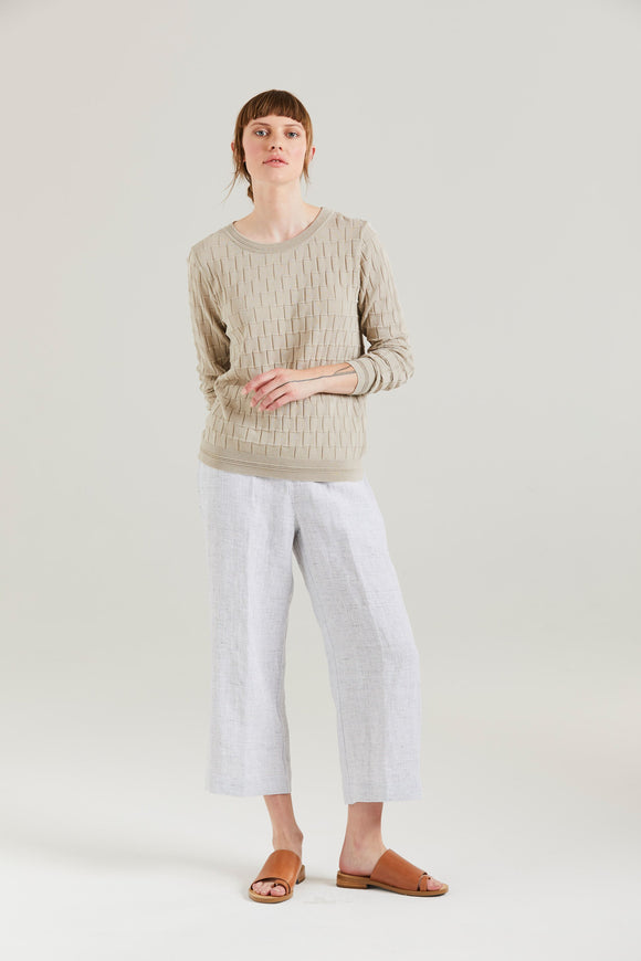 Standard Issue Brick Texture Sweater Paprika