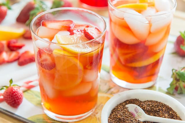 Strawberry Iced Tea Crush