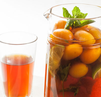 KUMQUAT ICED TEA