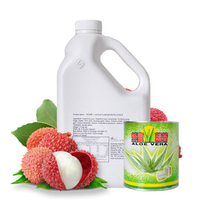 Lychee Aloe Vera Drink - DIY Set - Sunwide Bubble Tea
