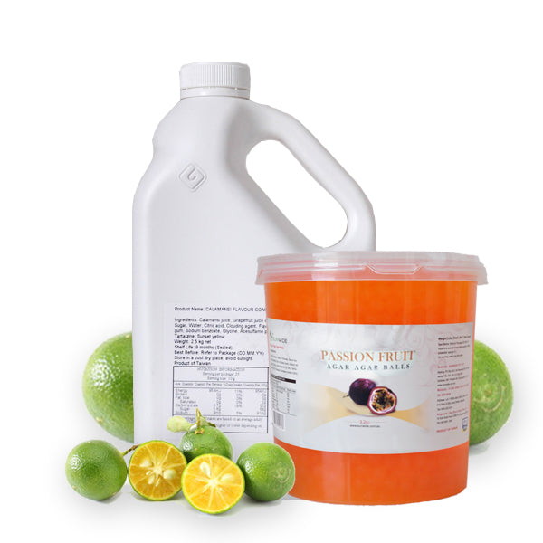 Calamansi Passionfruit Drink - DIY Set