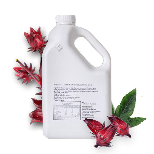 Roselle Concentrated Syrup 2.5kg