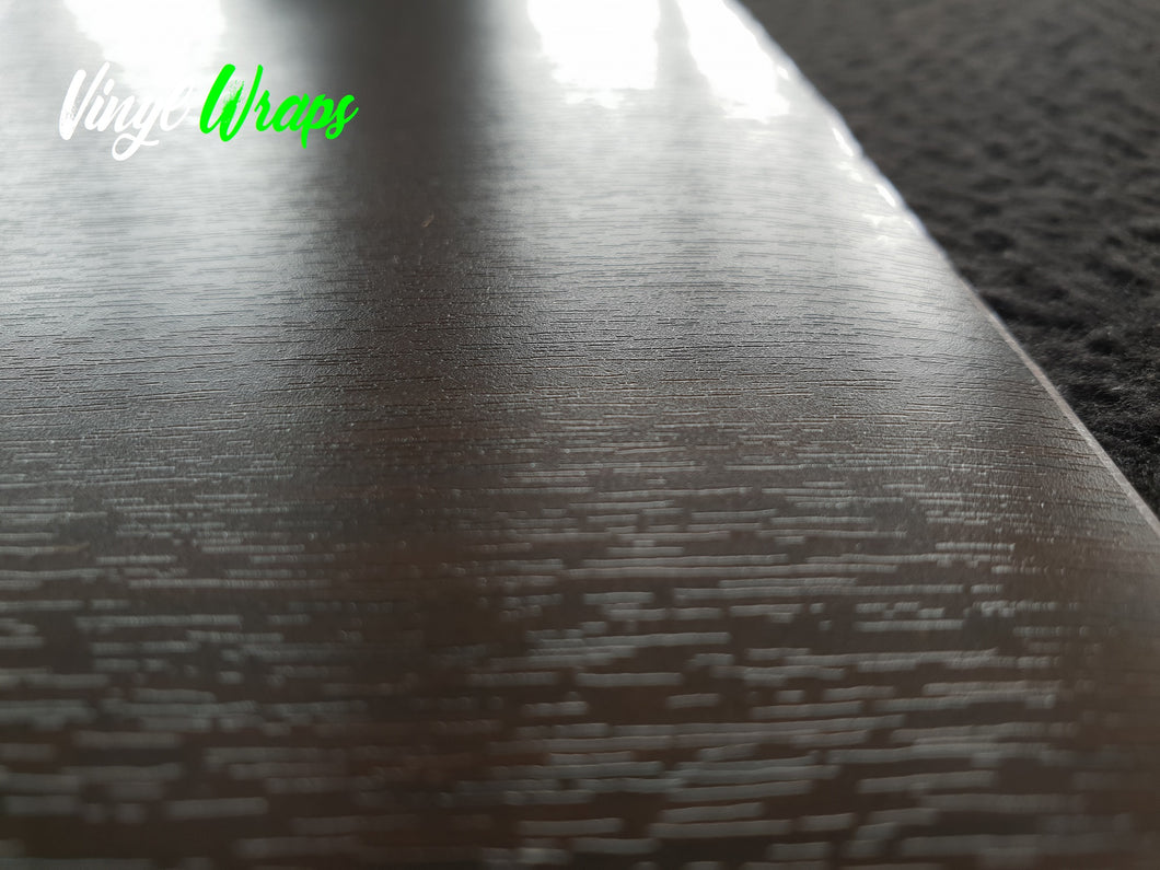 Dark Tamo Wood Grain Vinyl Wrap