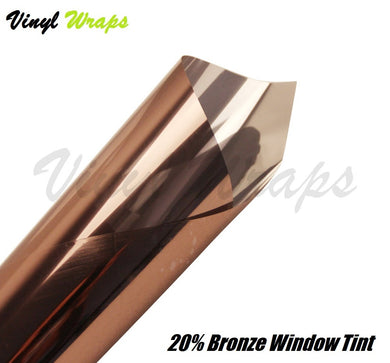 22% Bronze Reflective Window Tint Film