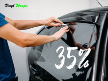 35% 50CM x 3M Black, Car Window Tint With Install Tools Included