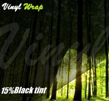 15% Blackout Window Tint Film