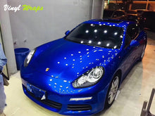 Candy Dark Blue Vinyl Wrap