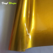 Candy Gold Vinyl Wrap