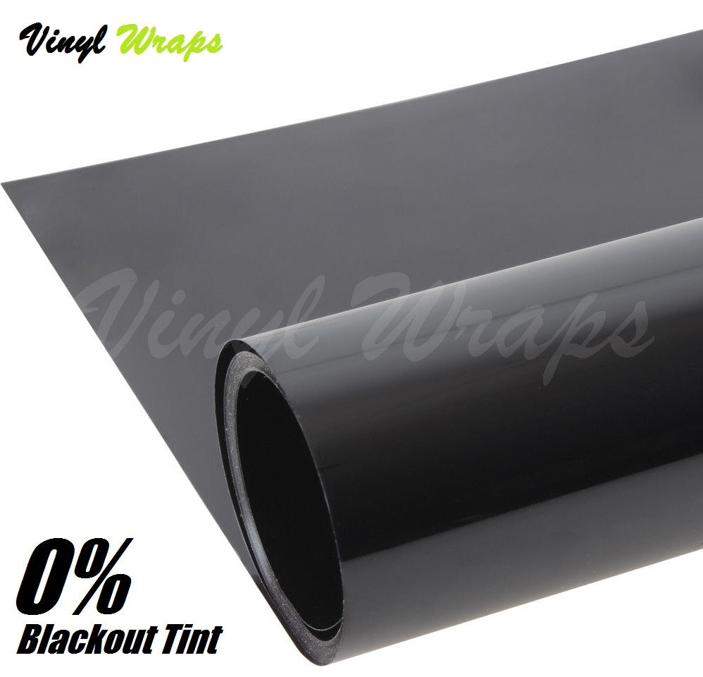 0% Blackout Window Tint Film