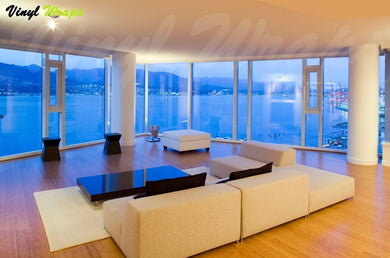 16% Blue Reflective Window Tint Film