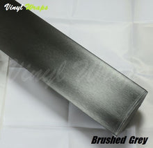 Brushed Grey Vinyl Wrap