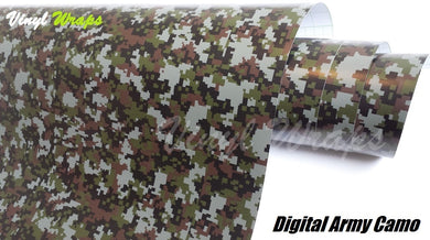 Digital Army Camo Vinyl Wrap