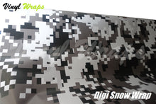 Digital Black And White Camo Vinyl Wrap