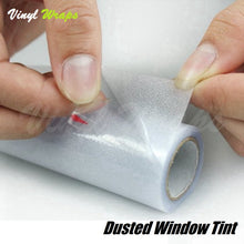 Dusted White Window Tint Film