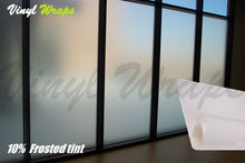 8% Frosted White Window Tint Film