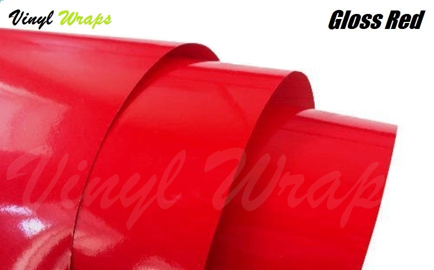 Gloss Red Vinyl Wrap