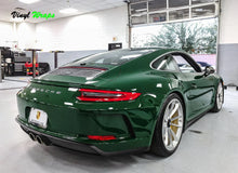 Gloss Porsche Green Vinyl Wrap