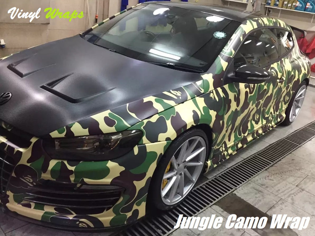 Jungle Camo Vinyl Wrap Vinylwraps