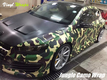 Jungle Camo Vinyl Wrap