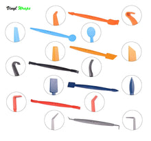 Magnetic Vinyl/Tint Installation Tools, Assorted Squeegee Full Set