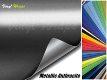 Metallic Anthracite Vinyl Wrap