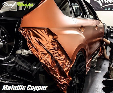 Metallic Copper Vinyl Wrap