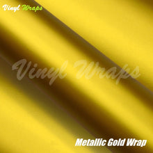 Metallic Gold Vinyl Wrap