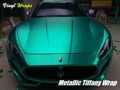 Metallic Tiffany Vinyl Wrap