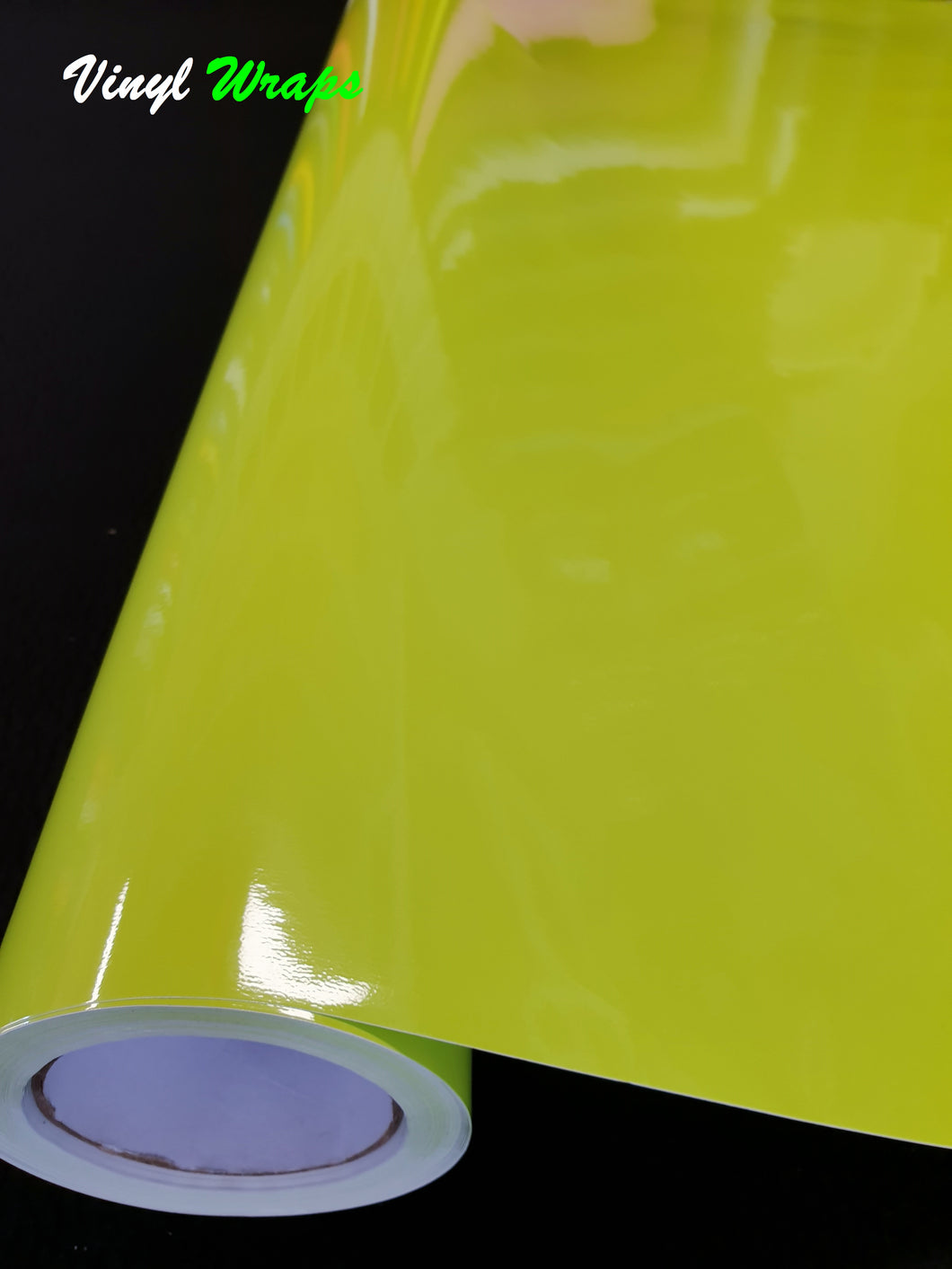Gloss Pale Green Vinyl Wrap