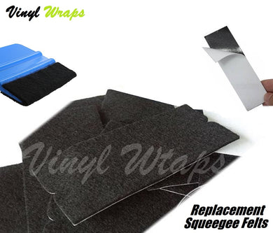 4 Inch Squeegee Replacement Felt x10