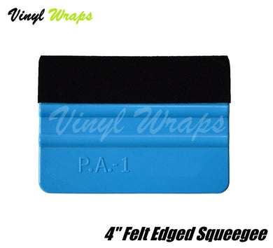 4 Inch Felt Edged Squeegee