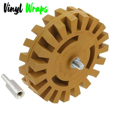 Rubber Eraser Wheel, Sticker Remover