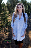 Lucky Leopard Tunic - Pockets and Pearls®