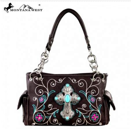 Montana West Spiritual Collection Handbag - Pockets and Pearls