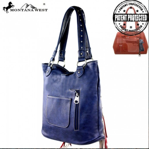 Montana West Texas Pride Concealed Handgun Handbag - Pockets and Pearls