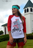 BASEBALL LOVE WITHOUT END AMEN - Pockets and Pearls