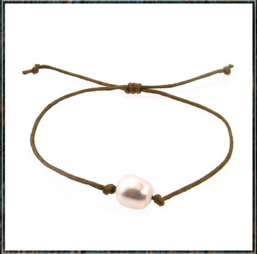 Adjustable Stone Bracelet