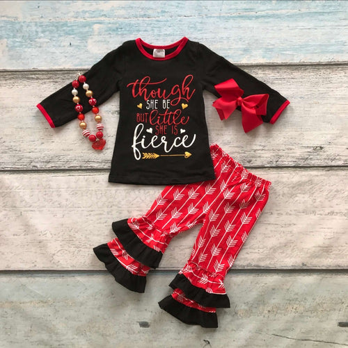 Though She Be But Little, She is Fierce Boutique Outfit