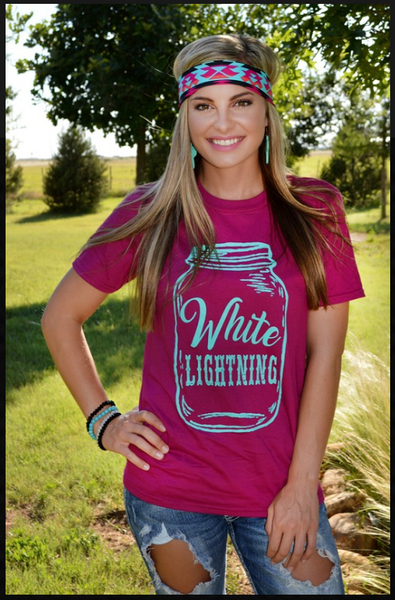 White Lightening Tee