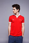 Feather Dry Polo - Red