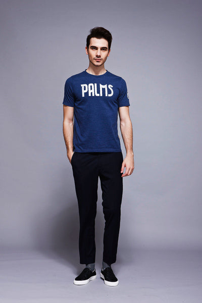 Palm Tees - Blue