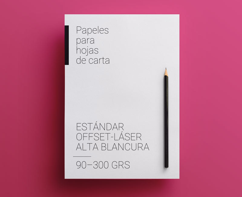 papel offset blanco
