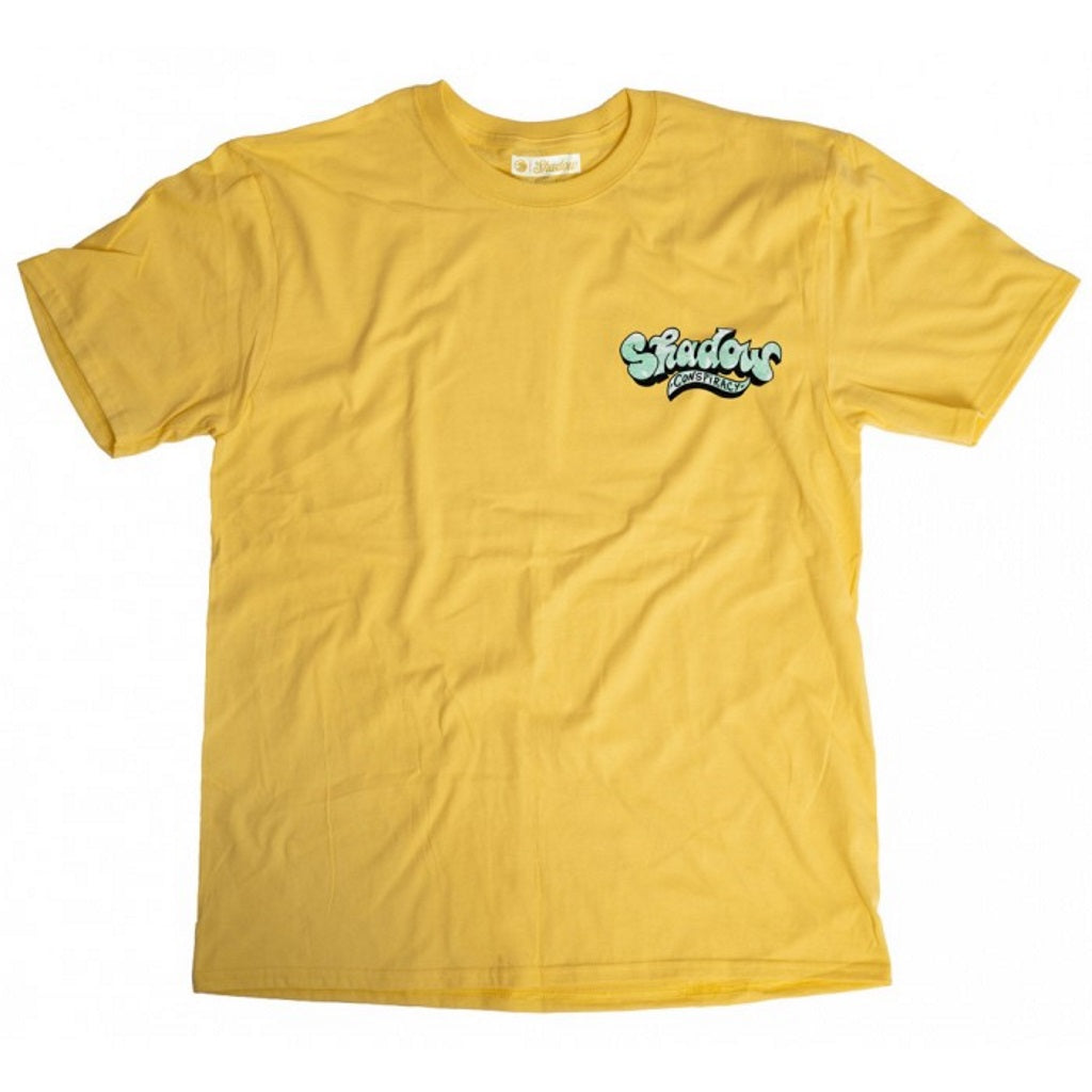 Shadow Shades T-Shirt - Yellow Medium